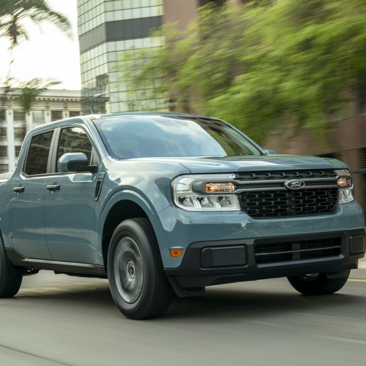 Ford's new Maverick hybrid pickup will get 40 mpg in the ...